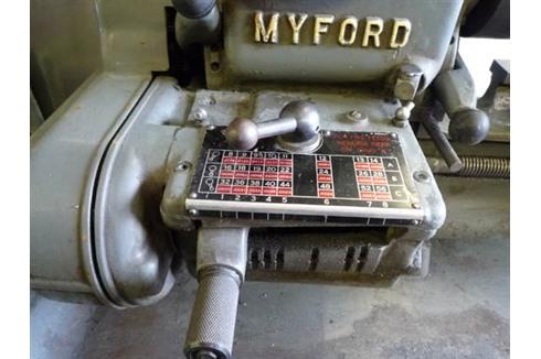 Myford - Super 7 | Tours parallèles | Numéro d'inventaire ...