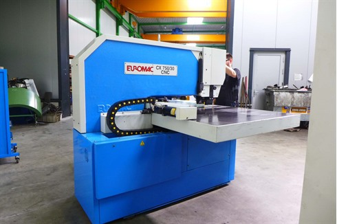 Euromac Cx 750 X 30 Cnc Turret Punch Machines Stock