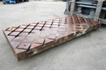 NN - floor plate with crosswise T-slots
